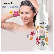 伊森緹一般发质洗发水(芦荟和小麦蛋白)250ml/瓶