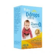 加拿大 BABY DDROPS 婴儿维生素滴剂 90滴(蓝)