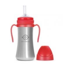 Grosmimi - 不锈钢吸管杯(红色)