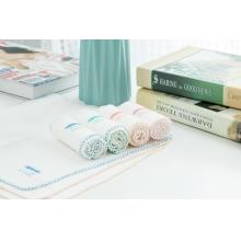 香港品牌CHUBEES 100%棉纱巾(4条装)