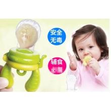 Food Feeder Single Pack(Size:L) - Lime (Tri-Fold Silicone Sac) 咬咬乐单只装(大号)-绿色