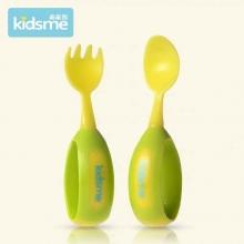 Toddler Spoon & Fork Set-Lime QQ叉匙(绿色)