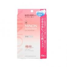MINON 敏感干燥肌专用面膜(4片)(保湿)(限定版)