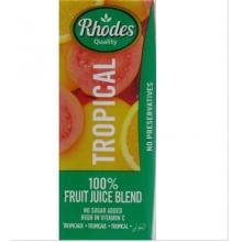 Rhodes 100%热带鲜果混合果汁 200毫升