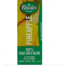 Rhodes 100%菠萝混合果汁 200毫升