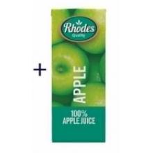 Rhodes 100% 苹果汁 200毫升
