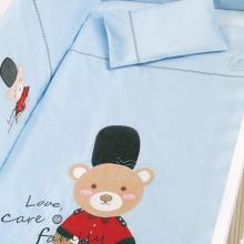 婴儿床上用品套装-皇家小熊骑兵