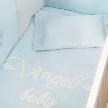 婴儿床上用品套装-小天使蓝