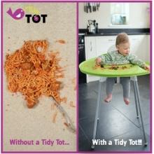 TidyTot婴儿主导辅食围兜连托盘一套另随件赠送限量收纳袋一个(先到先得)