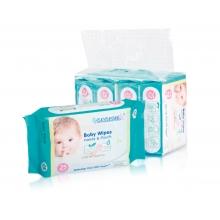 BS4873 婴儿手口湿巾(25片*4pack)