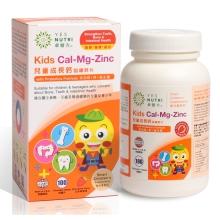 卓营方儿童成长钙 咀嚼钙片 (添加镁+锌+益生菌配方)  100粒