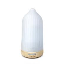 橡木磨砂玻璃遙控香薰噴霧器(淺啡)