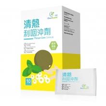 清热利咽冲剂10克x10包/盒