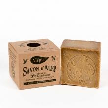 传统婀勒颇古皂- 橄榄油、含5%月桂油