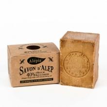 传统婀勒颇古皂- 橄榄油、含40%月桂油