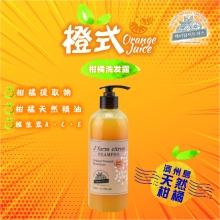 韩国Jfarm citrus低温菁萃济洲岛柑橘洗润系列-洗髮露500ML/枝