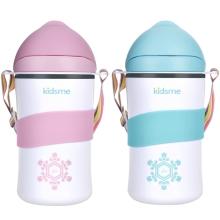 300ml Cool Cup Plus-Lavender 石墨烯双层吸管杯300ml-粉色