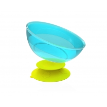 Stay-In-Place with Bowl Set (Lime-Stay-In-Place & Sky-Bowl) 吸盘(绿色)+碗套装(蓝色)